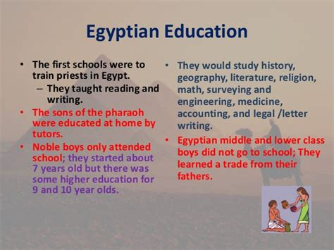 theme of education in the river between ancient egypt powerpoint