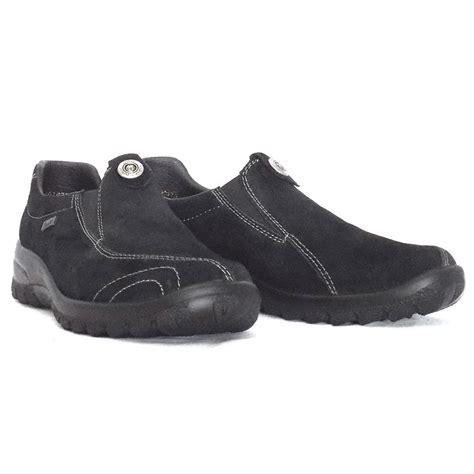generation shoes rieker shoes generation tex range in black suede