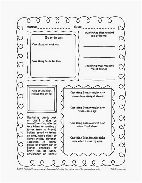 free printable guided journal pages adventures in guided journaling printable journal pages