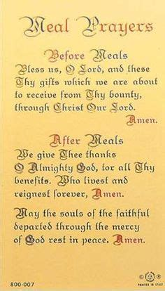 Wedding Dinner Blessing Catholic by Meal Prayer Instant We Meals And Prayer