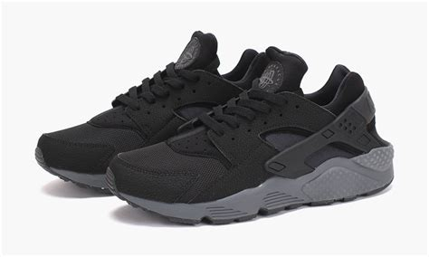 Nike Air Huarache Black Grey nike air huarache quot black black grey quot highsnobiety