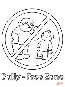 printable coloring pages about bullying antibullying coloring printable coloring pages