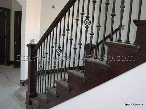 Metal Banister by Metal Staircase Spindles Best Staircase Ideas Design