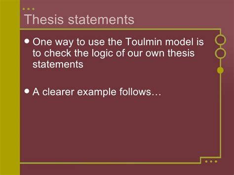 toulmin sle essay thesis rogerian argument