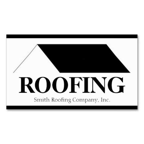 Roofer Roofing Contractor Company Business Card Template Roofer Roofing Business Cards Roofing Business Card Templates