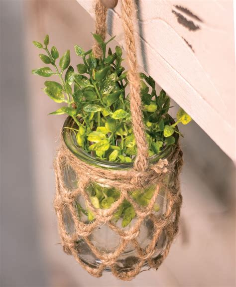 craft house designs wholesale hanging rope planter