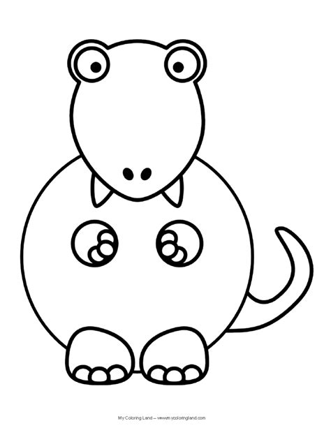 coloring pages cute dinosaurs cute dinosaur my coloring land