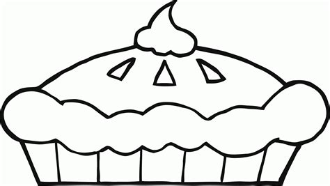coloring page apple pie coloring picture of pie clipart best