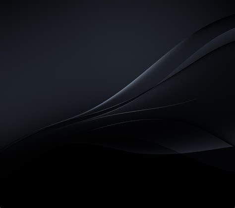 xperia  wallpaper  black color gizmo bolt exposing