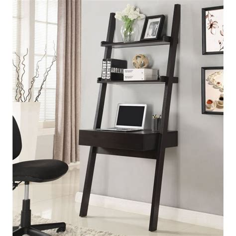 ladder bookcase with desk best 25 ladder desk ideas only on ladder shelves desk storage and ladder shelf desk