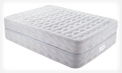 therapedic 20 inch air bed groupon goods
