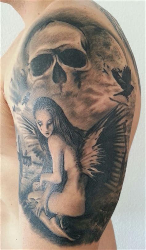 pem117289 schutzengel dark tattoos von tattoo bewertung de