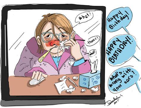 is lethargic the birthday is sick danielebd comics
