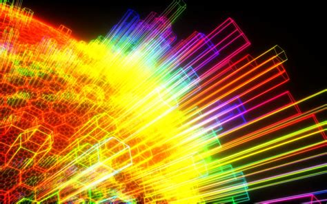 wallpapers geometry rainbow colours wallpapers