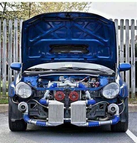 subaru wrx twin turbo subaru wrx sti bugeye very modified automotive
