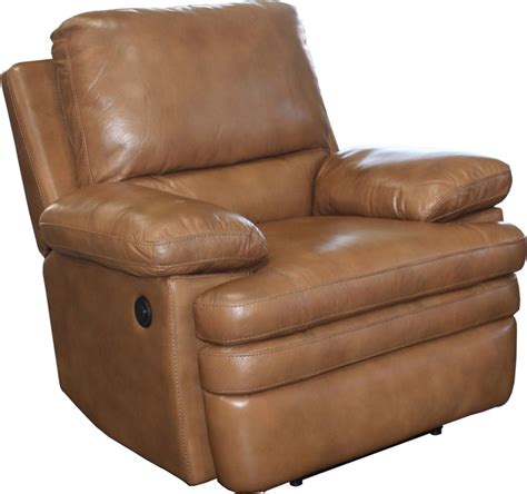 saddle leather recliner meyer 2 piece power reclining set in saddle leather by
