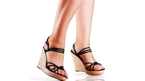 Sandal High Heels Wanita No 094 how to walk in high heeled wedges high heel walking