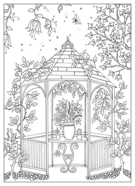 coloring pages of secret garden secret garden prieeltje coloring pages pinterest