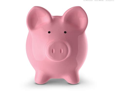 piggy bank in pink piggy bank psdgraphics