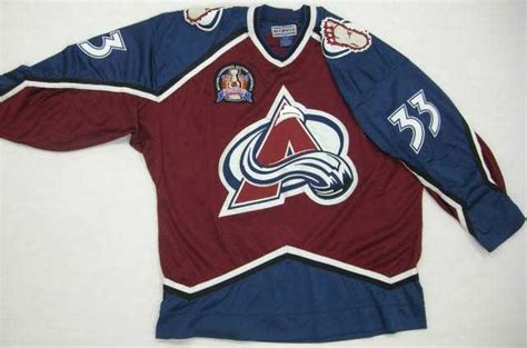 colorado avalanche colors colorado avalanche team color 1996 starter jersey