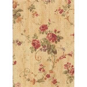 shop waverly brown strippable paper unpasted wallpaper at lowes com
