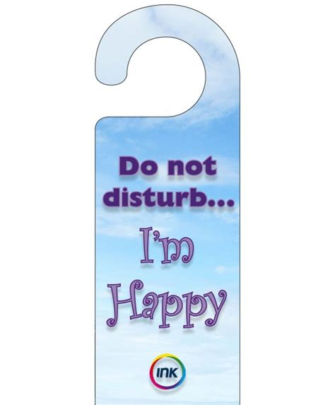 Door Hangers by Do Not Disturb Door Hangers