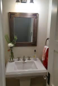 reclaimed wood bathroom mirror 24x30 reclaimed wood bathroom mirror rustic by hurdandhoney