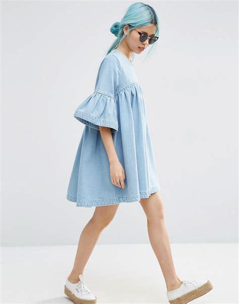 Preloved Mini Dress dress preloved fashion catchys denim