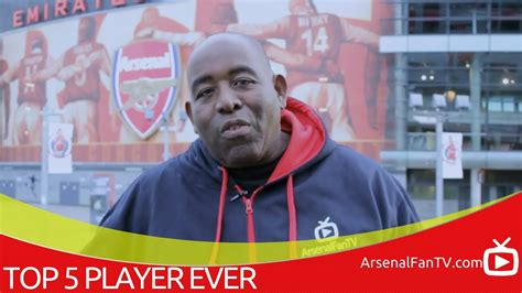 arsenal fan tv youtube top 5 favourite arsenal players robbie s selection