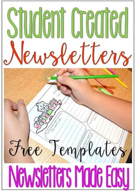 150 Best Parent Communication In The Classroom Images On Pinterest Free Sle Newsletter Templates