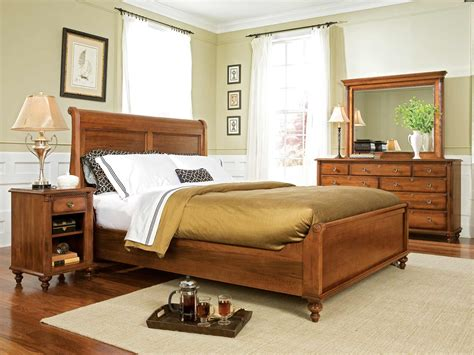 4 piece moorewood park traditional bedroom set usa durham furniture savile row 4 piece sleigh bedroom set w