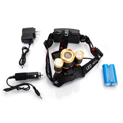 Lu Led Waterproof new style 3 x xm l t6 3800lm stretchable focusing 90