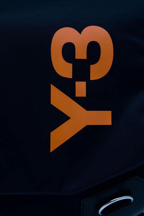 Y Logo y 3 logo messenger bag in black for lyst