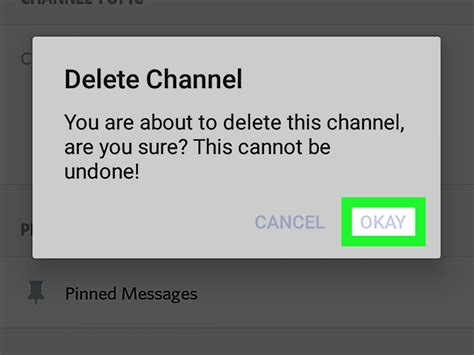 discord delete account how to leave a discord channel on android with pictures