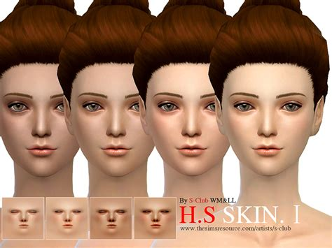 Sims 4 Skintones The Sims Resource | s club wmll thesims4 hs skintones i