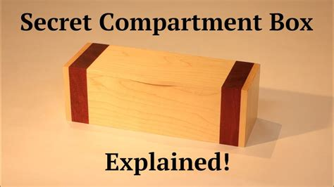 secret compartment box  youtube