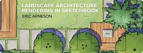 sketchbook pro architecture landscape architecture rendering a digital worfklow