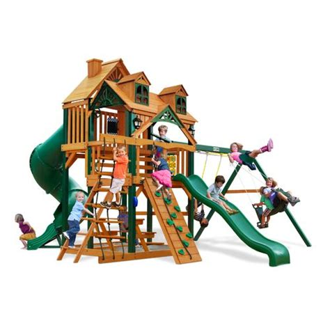 academy swing sets gorilla playsets malibu deluxe i swing set academy