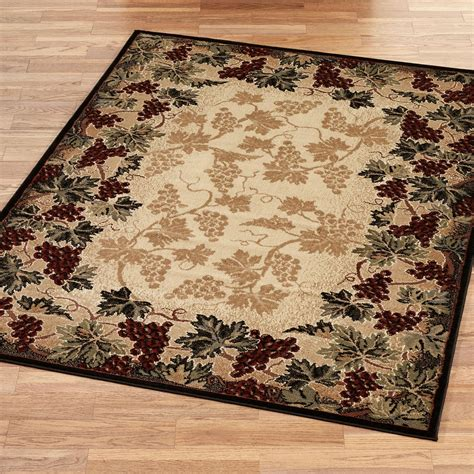grape kitchen rugs tuscan style area rugs roselawnlutheran