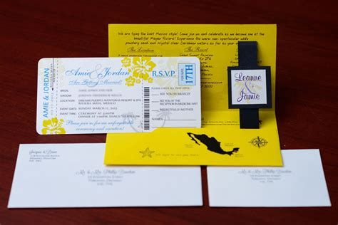 boarding passes empire invites winnipeg wedding