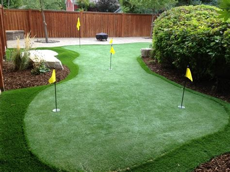 backyard putting green designs backyard putting greens salt lake city by ridgeline