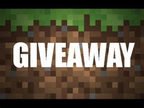 Minecraft Giveaway Codes - free minecraft gift codes giveaway giveaway giveaway daily update 2016 youtube
