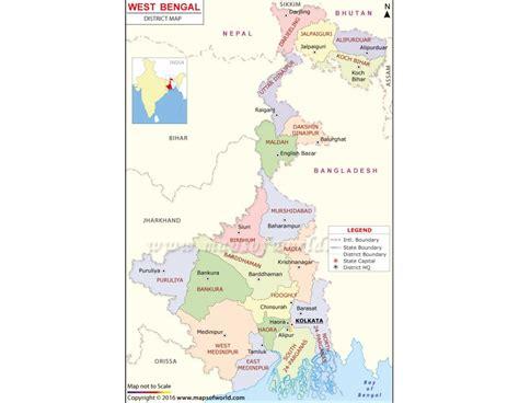 bengal india map buy west bengal map