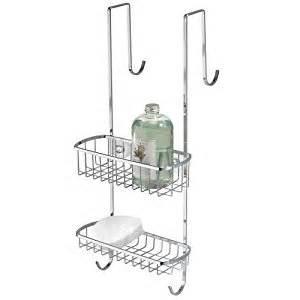 interdesign the door shower caddy interdesign the door shower caddy stainless steel