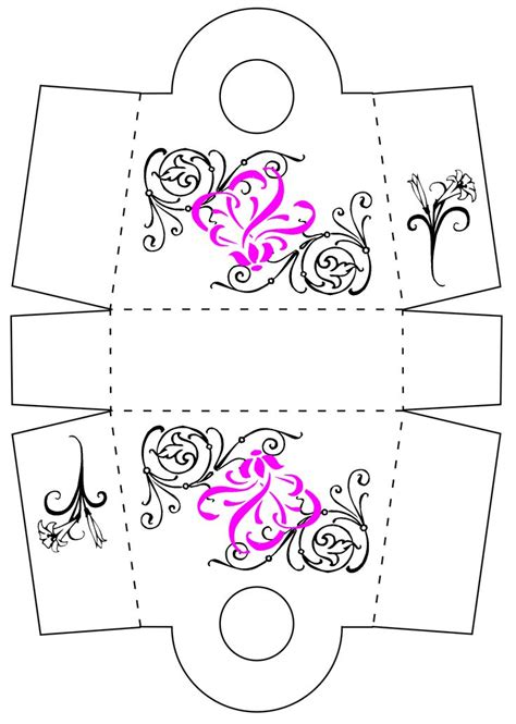 favor box template favor boxes favor box template gifts