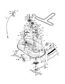 mower deck diagram amp parts list for model po15538lt poulan