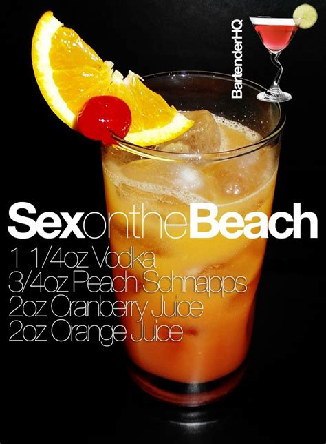 top mix drinks ordered at bars how to make a sex on the beach cocktail behind the bar or