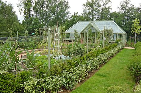 Vegetable Garden Greenhouse Greenhouse In The Vegetable Garden Vegetable Garden And