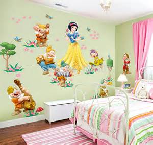 snow white wall stickers cartoon snow white wall decals wall stickers for kids room