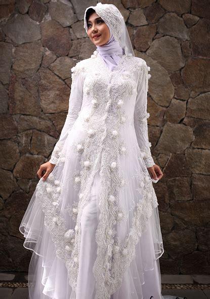 contoh gaun pengantin muslimah elegan terbaru 2017 contoh gamis pengantin muslim 30 contoh kebaya pengantin